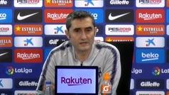 """Valverde: """"La única manera de cumplir los cuatro años es consiguiendo títulos"""""""