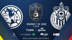 #ElClásicoDeLaHistoria: ¡Corona reúne en 90 épicos minutos 70 años de historia del América vs Chivas