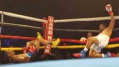 Otro doble KO en el boxeo: Caen fulminados al unísono