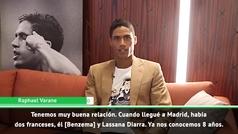"Varane: ""Soy joven pero he vivido muchas cosas"""