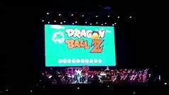 La dura caída del cantante de Dragon Ball en el Wizink Center