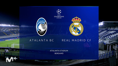 Champions League (octavos ida): resumen del Atalanta 0-1 Real Madrid
