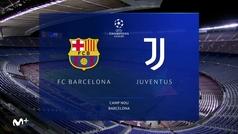 Champions League (J6): Resumen y goles del Barcelona 0-3 Juventus