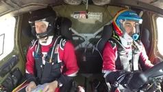 Así pilota Alonso el Toyota
