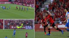 ¡Así se regresa a Primera! Los 3 golazos del Mallorca ante el Deportivo