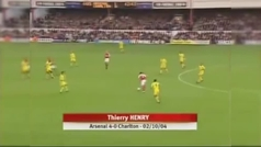 El taconazo de Henry al Charlton