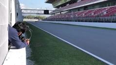 Alonso ya vuela en Renault