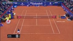 El puntazo de Ferrer a Nadal que puso en pie a Barcelona