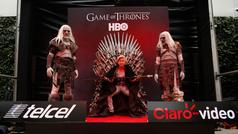La fiebre por el Trono de Hierro de Game of Thrones llega a Plaza Carso