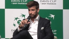 Piqué analiza las reacciones de Nadal, Djokovic y Federer sobre la nueva Copa Davis