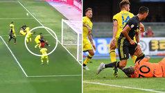 El VAR anuló un gol de Mandzukic por un rodillazo de Cristiano