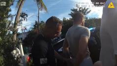 El vídeo de la policía de Miami Beach cuando arrestan a Conor McGregor