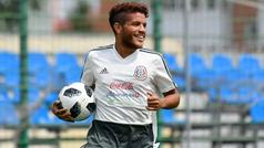"""Jonathan dos Santos: """"Estoy muy feliz de volver a la selección"""""""