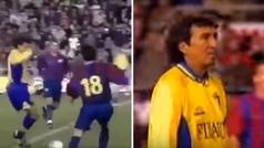 El día que Mágico González hizo esto a Iniesta... sacándole 26 años