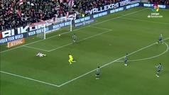 Gol de Embarba (2-0) en el Rayo 2-2 Real Sociedad