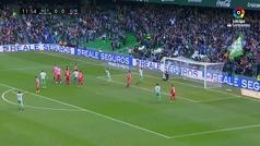 J20 Betis 3-Girona 2 Gol 1-0 Tello