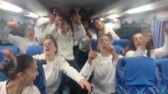 Las Guerreras celebran a ritmo de Henry Méndez el pase a la final