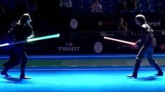 Campeonato del Mundo de duelos con espadas láser en plan Star Wars