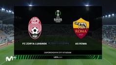 Conference League (J2): resumen y goles del Zorya Luhansk 0-3 Roma