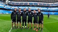 MX:River reconoce el campo del Bernabéu a puertas cerradas