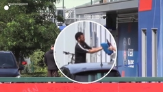 """El grito viral de un obrero a Neymar en las instalaciones del PSG: """"Pesetero"""""""