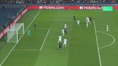 Lucas Vázquez se equivocó al ir a por el balón y anuló el gol de Benzema