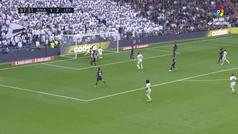Gol anulado a Mariano por fuera de juego en el minuto 87