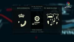 MX: LaLiga (J15): Resumen y goles del Espanyol 0-4 Barcelona