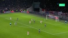 Gol de Coman (2-3) en el Ajax 3-3 Bayern