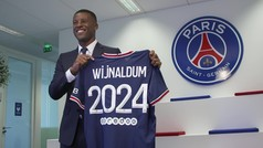 Así fue la presentación de Wijnaldum con el PSG