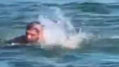 Agónico entrenamiento de Khabib pensando en McGregor: Nada contracorriente en aguas gélidas
