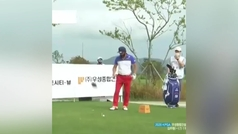 """El error de un golfista profesional que nadie entiende: """"La culpa será del caddie..."""""""
