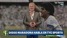 """El audio de Maradona en el que carga contra la selección argentina: """"La camiseta la sentís... con la concha de tu madre"""""""