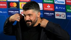 """Gattuso: """"Hemos tenido errores y los hemos pagado caros"""""""