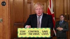 Crecen las dudas sobre la estrategia de Reino Unido al superar 40.000 muertes