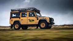 El 'viejo' Land Rover Defender renace en busca de aventura.