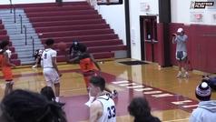 Hansel Emmanuel, el adolescente que intenta alcanzar la NBA con un sólo brazo