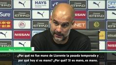"""Guardiola sobre el VAR: """"¿Por qué a veces se usa y otras no?"""