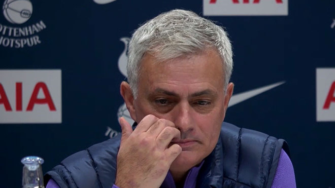 Humble One: Jose Mourinho says he's emotionally stronger at Tottenham