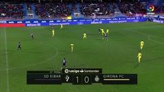 Gol de Oro: Gol de Charles (2-0) en el Eibar 3-0 Girona