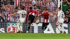 Gol de Muniain (1-0) en el Athletic 1-1 Real Madrid