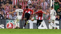 Gol de Muniain (1-0) en el Athletic 1-1 Real Madrid
