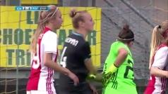 El puñetazo de Eli Sarasola a una rival en un córner por el que está siendo criticada en Twitter
