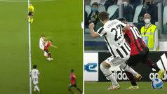 Brahim enloquece a la Serie A con su último regate: ¿la 'croqueta' de espaldas?