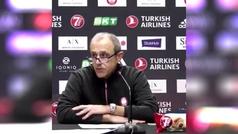 """Messina, tras esperar 20 minutos al entrenador del Bayern: """"Que tengas un buen puto vuelo"""""""