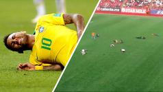 Divertido 'Neymar Challenge' durante el medio tiempo del Xolos vs Herediano