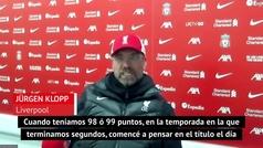 """La afirmación de Klopp que no gustará a los aficionados del Liverpool: """"Lo importante es..."""""""
