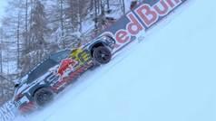 Un coche eléctrico se devora la pista de esquí más temida de la Copa del Mundo