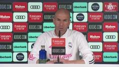 """Zidane: """"Hace ocho meses yo estaba en la calle y los jugadores no valían nada..."""""""