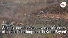 Conversación piloto helicóptero Kobe Bryant